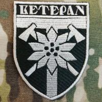 Шеврон Ветеран 128 ОГШБр