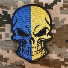 Нашивка прапор України (череп)