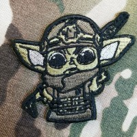 Патч Tactical Baby Yoda