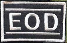 Патч EOD Black