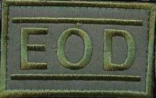 Патч EOD Olive