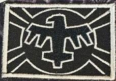 Патч United Citizen Fderation Flag з кф Зоряний десант Starship Troopers (чорно білий)