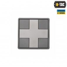 PVC патч CROSS MEDIC PATCH сірий