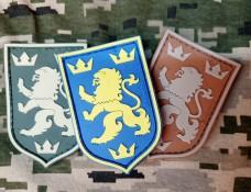 Купить PVC патч Золотий Левик комплект 3шт в интернет-магазине Каптерка в Киеве и Украине