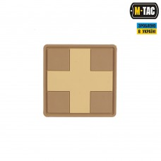 PVC патч CROSS MEDIC PATCH койот