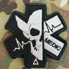 Шеврон Medic (чорний)