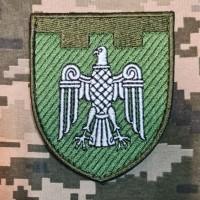 Нарукавний знак 107 окрема бригада ТрО Чернівецька область Польовий