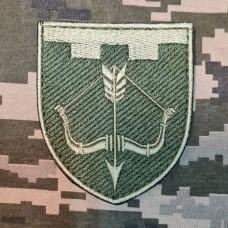 Нарукавний знак 118 окрема бригада ТрО Черкаська область Польовий
