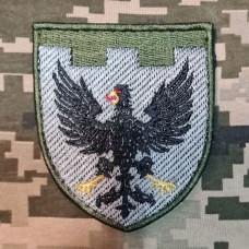 Нарукавний знак 119 окрема бригада ТрО Чернігівська обл Польовий