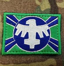 Патч United Citizen Fderation Flag з кф Зоряний десант Starship Troopers