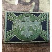 Патч United Citizen Federation Flag з кф Зоряний десант Starship Troopers (олива)