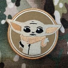 Купить Патч Baby Yoda (койот) в интернет-магазине Каптерка в Киеве и Украине