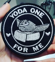 Патч Yoda One For Me