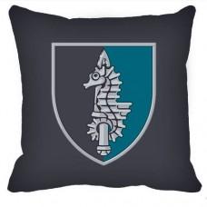 Декоративна подушка 73-й Морський Центр Спеціальних Операцій (новий шеврон)