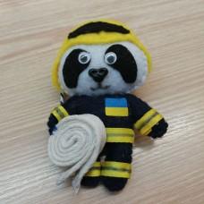 Купить М'яка іграшка Пожежник (ДСНС) в интернет-магазине Каптерка в Киеве и Украине