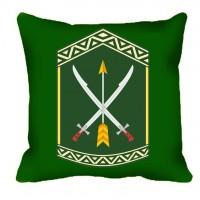 Декоративна подушка 197 ЦПСС (олива)