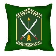 Купить Декоративна подушка 197 ЦПСС (олива) в интернет-магазине Каптерка в Киеве и Украине