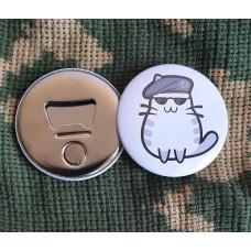 Відкривачка з магнітом Спеціальний Котик