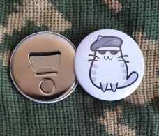 Купить Відкривачка з магнітом Спеціальний Котик в интернет-магазине Каптерка в Киеве и Украине