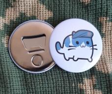 Купить Відкривачка з магнітом Котик Муррпіх в интернет-магазине Каптерка в Киеве и Украине