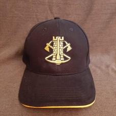 Бейсболка з вишивкою Інженерні війська ЗСУ (чорна)