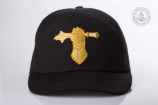 Бейсболка з вишивкою Танкові Війська (чорна)