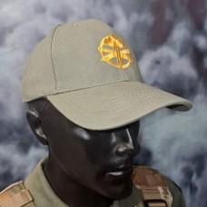 Бейсболка з вишивкою Артилерія ЗСУ світла олива