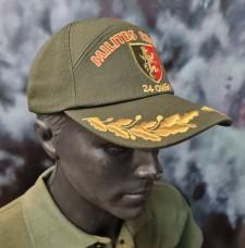 Бейсболка з вишивкою 24 ОМБр Королівська піхота