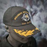 Бейсболка з вишивкою ССО Сили Спеціальних Операцій (чорна)