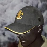 Бейсболка з вишивкою Інженерні війська ЗСУ чорна
