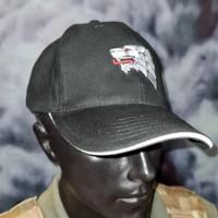 Бейсболка з вишивкою ССО вовк Чорна Ukrainian Special Force