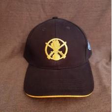 Бейсболка з вишивкою Піхота ЗСУ чорна