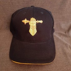 Бейсболка з вишивкою Танкові Війська ЗСУ чорна