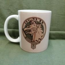 Керамічна чашка з зображенням Фрачника ССО та Вовкулакою