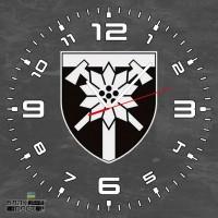 Годинник 128 ОГШБр (скло) сірий