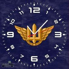 Годинник ВПС ЗСУ (скло)