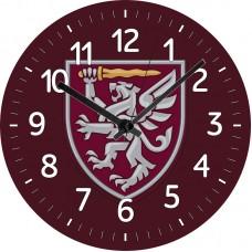 Настінний годинник з новим знаком 80 ОДШБр