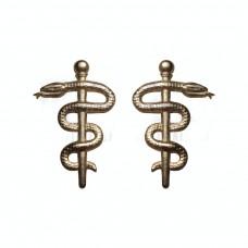 Емблема на комірець Медична Служба нового затвердженого зразка