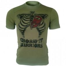 Футболка Coolmax Crossfit Warriors (олива)