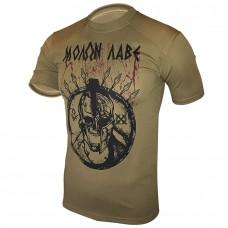 Футболка Coolmax Molon Labe (койот)