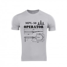 Футболка Coolmax Operator MPL-50 (сіра)
