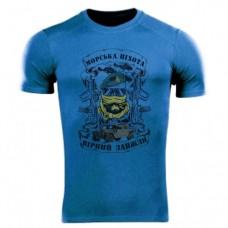 Футболка Coolmax Морська піхота (синя)