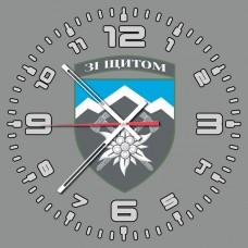 Годинник 10 ОГШБр (скло) сірий