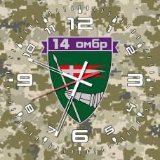 Годинник 14 ОМБр (скло) Піксель