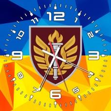 Годинник 199 НЦ ДШВ ЗСУ (скло)