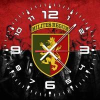 Годинник 24 ОМБр (червоно-чорний)