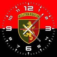 Годинник 24 ОМБр червоно-чорний