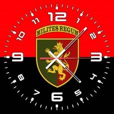 Годинник 24 ОМБр червоно чорний