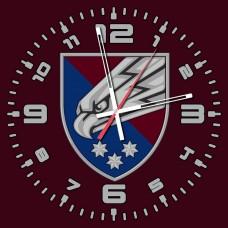 Годинник 25 ОПДБр ДШВ (скло) марун