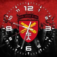 Годинник 44 ОАБр (червоно-чорний)
